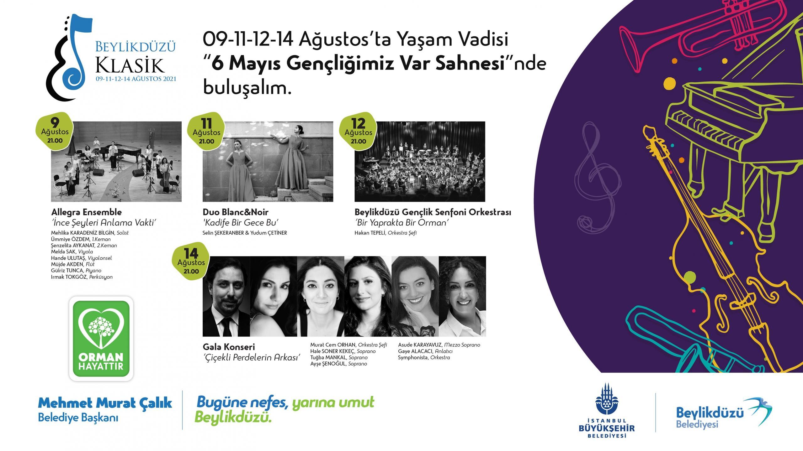 KLASİK MÜZİK FESTİVALİ'NİN FİNALİ ERTELENDİ