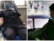 BURSA'DA POLİS, KANIYLA DA VATANDAŞIN HİZMETİNDE