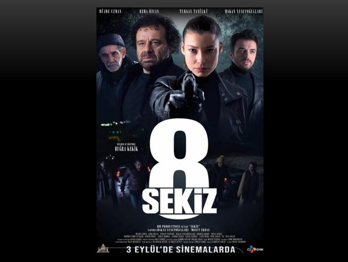 3 Eylül'de gösterime girecek olan Sekiz filminin fragmanı yayınlandı