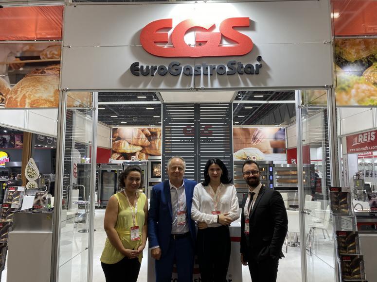Egs mutfak ekipmanları markası Tusid Hostech fuarında her zamanki gibi ziyaretçilerin dikkatini çekti