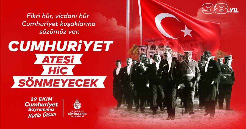 İSTANBUL'DA CUMHURİYET ATEŞİ ALEV ALEV YANACAK