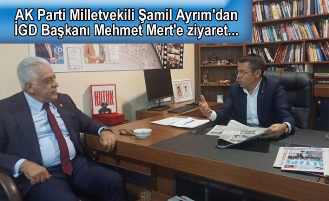 Şamil Ayrım'dan basına destek: Abone ve ilan yasakları kaldırılmalı